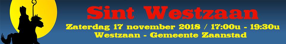 Sintwestzaan – Sinterklaasintocht Westzaan – Zaterdag 17 november 2018 – Gemeente Zaanstad